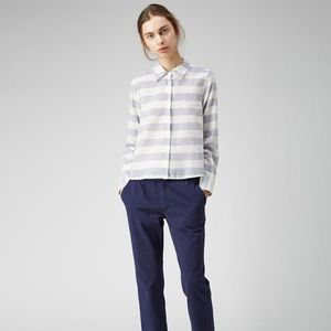 Band of outsiders striped shirt